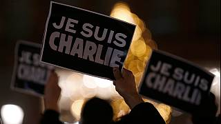 Twelve dead as terrorists attack the offices of French satirical magazine Charlie Hebdo