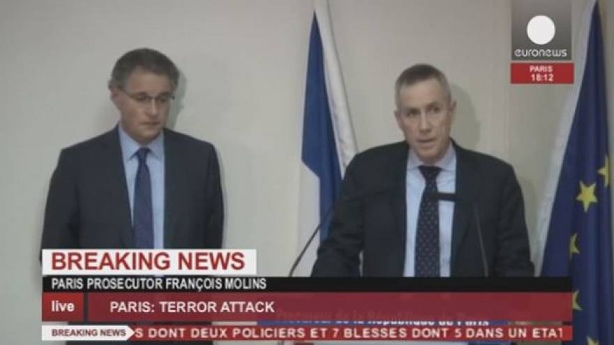 """El fiscal de París habla de al menos dos individuos gritando """"venganza al profeta"""" en el atentado contra 'Charlie Hebdo'"""