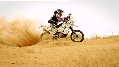 Theuretzbacher se hace ver en motos y Serradori logra el liderato sobre cuatro ruedas en la Eco Race