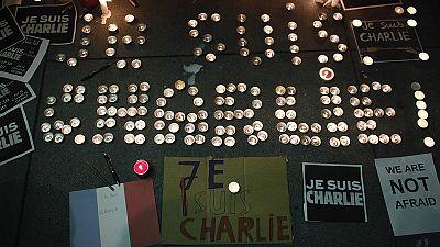 Vigilias en las capitales europeas en homenaje a los profesionales de Charlie Hebdo