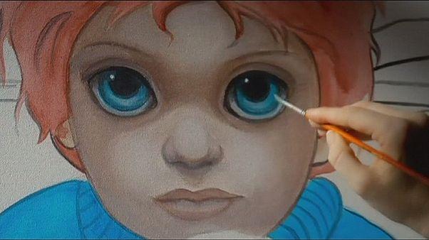 """""""Olhos grandes"""" de Tim Burton estreia em fevereiro"""