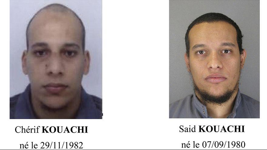 Attentat contre Charlie Hebdo: les 2 suspects toujours en fuite