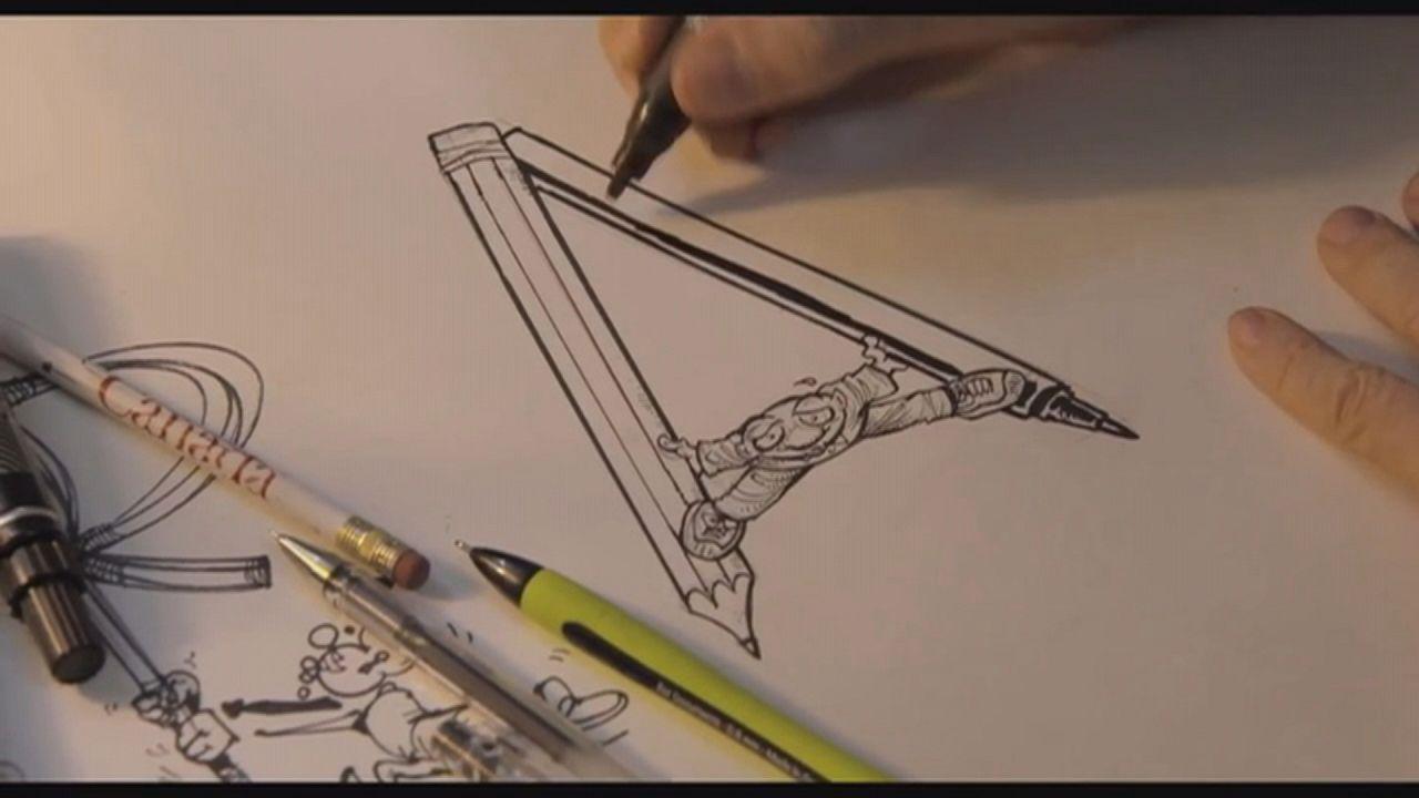 رسامو الكاريكاتير، جنود الكلمة الحرة، في فيلم وثائقي