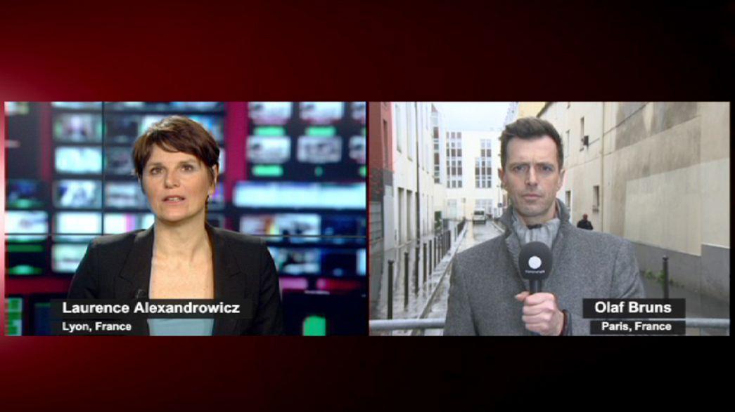 Euronews: l'atmosfera nel cuore di una Parigi ferita