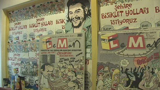 Turkish satire magazine Leman pays tribute to erstwhile Charlie Hebdo colleagues