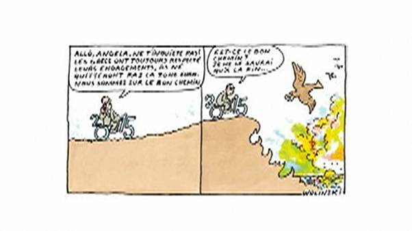 Το τελευταίο σκίτσο του δολοφονημένου Wolinski αφορούσε την Ελλάδα