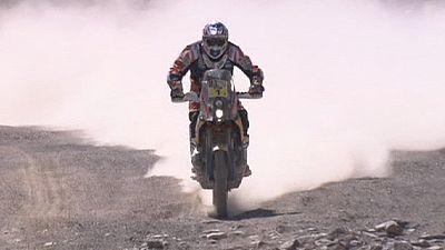 Rallye Dakar: Spanischer Motorrad-Zweikampf