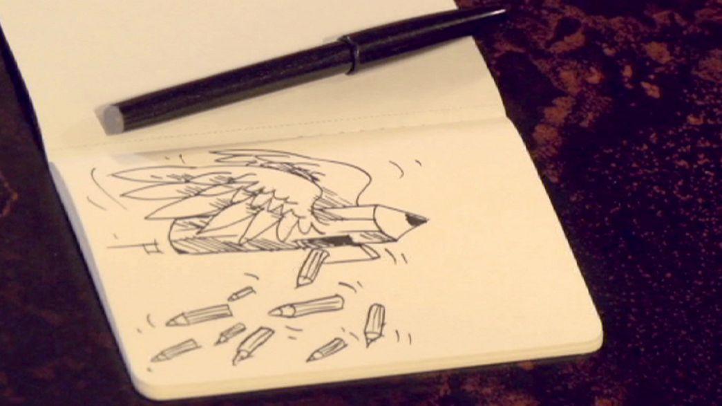 'I warned Charlie Hebdo of danger' - exiled Iran cartoonist