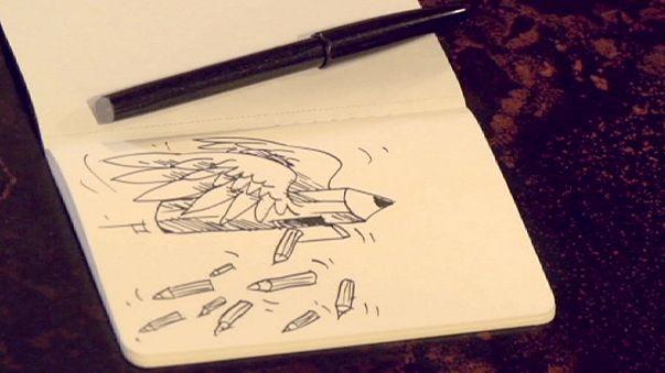 """Kianush Ramezani, dibujante iraní: """"Charb ¿sabes que estás en peligro? """""""