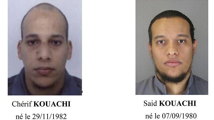 Fransa'daki en kanlı terör eyleminin zanlıları: Kouachi kardeşler