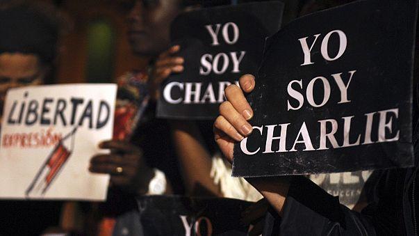 Weltweite Anteilnahme am Schicksal von Charlie Hebdo