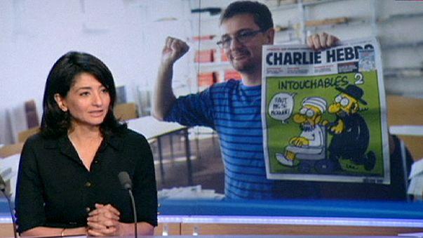 Megszólalt Charb özvegye