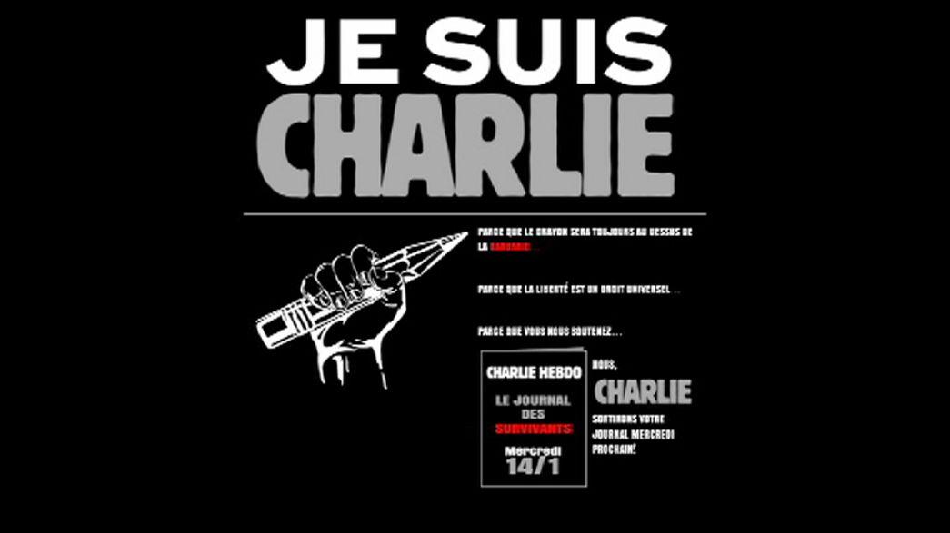 Charlie Hebdo volverá a los quioscos el 14 de enero con un millón de ejemplares