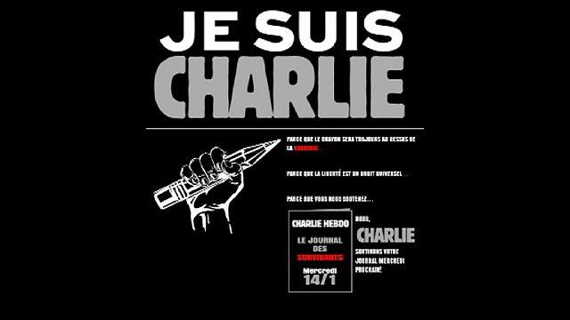 Charlie Hebdo будет жить!
