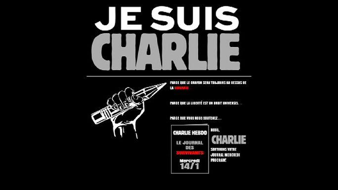 Charlie Hebdo yola devam edecek