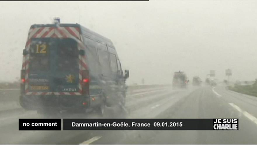 Major police operation underway in Dammartin-en-Goële