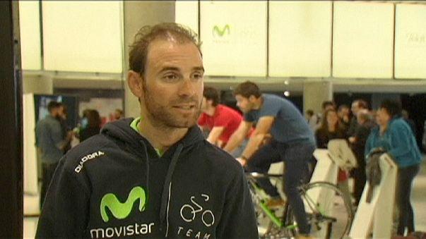 Movistar presenta su equipo para la próxima temporada ciclista