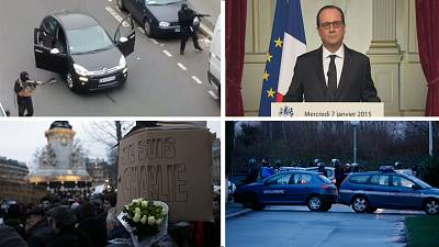 Charlie Hebdo: timeline of the 72 hours that shocked France