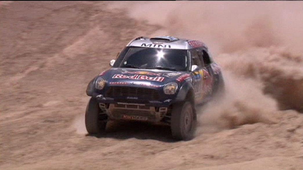 Dakar Rally: Rodrigues and Al-Attiyah claim stage six