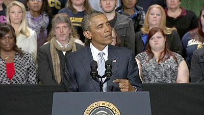 Obama solidário com vítimas de atentados de Paris