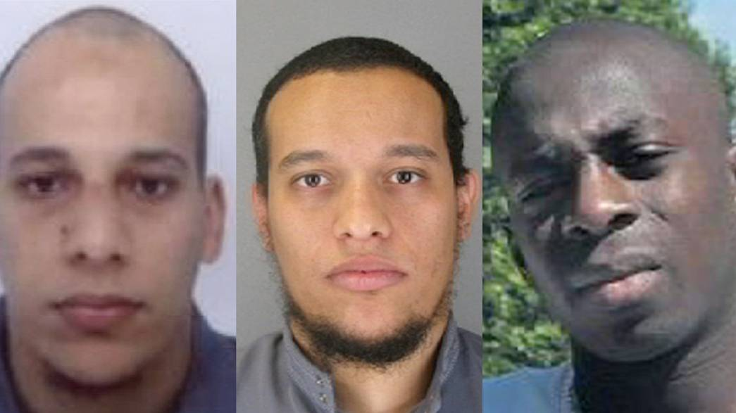 Los rostros del terror en Francia