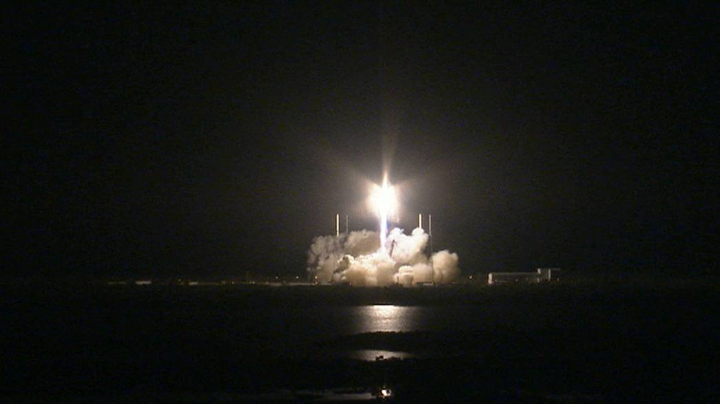"""""""Dragon"""" erfolgreich zur ISS gestartet"""