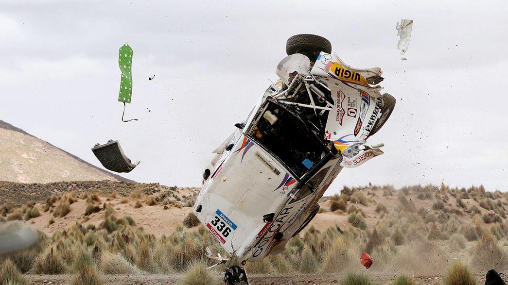 Dakar Rally: Terranova claims stage 7