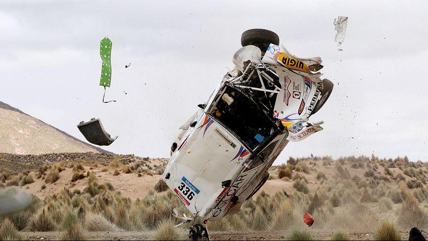 Dakar 2015: Al-Attiyah tranquilo na frente, Carlos Sousa caiu para nono
