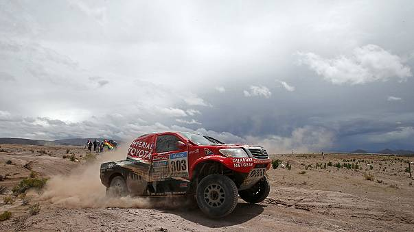 Africa Eco Race: А.Шибалов - без пяти минут чемпион ралли-рейда
