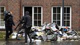 """Гамбург: поджог здания газеты, опубликовавшей карикатуры """"Шарли Эбдо"""""""