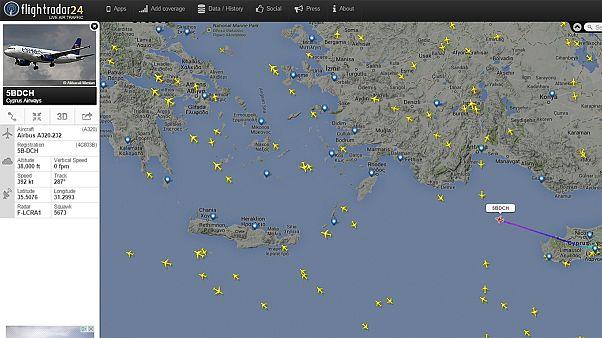Αναχώρησαν προς άγνωστη κατεύθυνση τα τελευταία αεροπλάνα των Κυπριακών Αερογραμμών