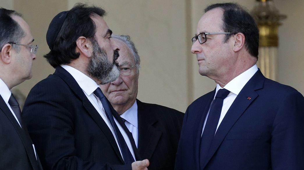 Hollande verspricht jüdischer Gemeinde mehr Sicherheit
