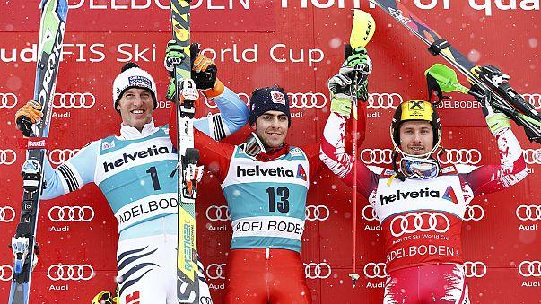 Coppa del Mondo di sci: Stefano Gross vince lo speciale di Adelboden