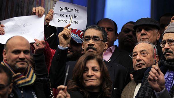 """""""Я - Шарли"""" в Каире: египетские журналисты - за свободу слова"""