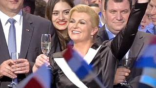 Kitarovic prima donna Presidente in Croazia