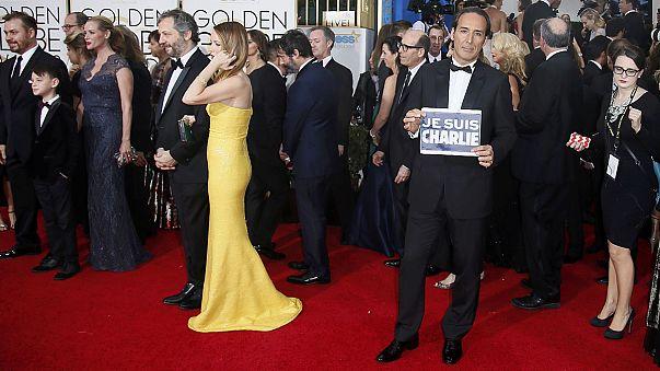 """""""Je suis Charlie"""" bei den Golden Globes"""