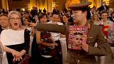 Altın Küre Ödülleri Töreni'nde Kuzey Kore esprileri havada uçuştu