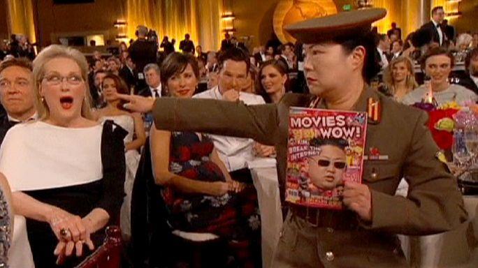Észak-Koreával poénkodtak a Golden Globe-on