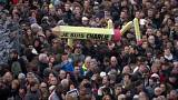 Hundreds of thousands rally in France in response to Paris attacks