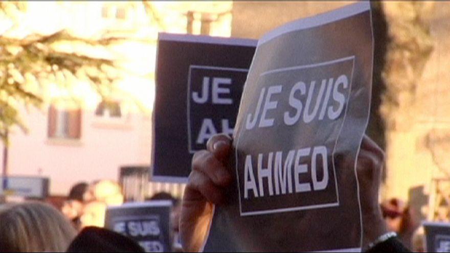 دقيقة صمت تكريما لروح الشرطي الفرنسي احمد مرابط الذي قتل في هجوم شارلي إبدو