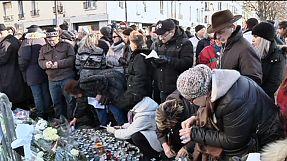 Homenaje a las víctimas de la toma de rehenes en Porte de Vincennes