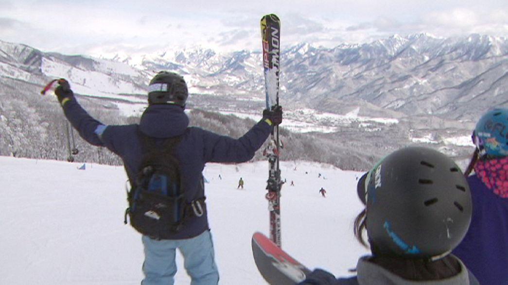 Contes d'hiver dans les Alpes japonaises