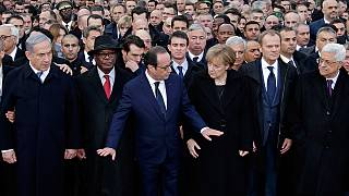 """Charlie Hebdo: ¿Benjamín Netanyahu """"se invitó"""" a la marcha de París?"""