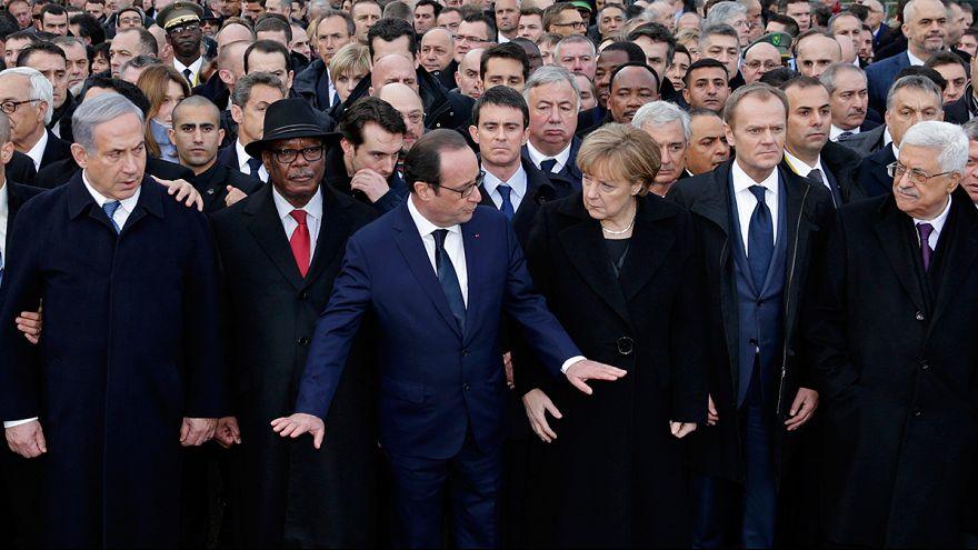 نتانياهو قام بدعوة نفسه الى تظاهرة باريس