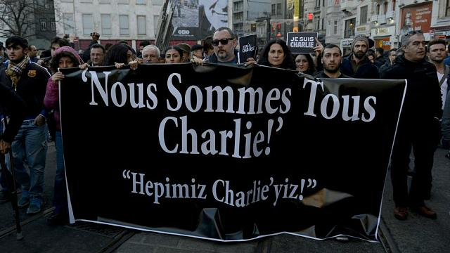 Türkiye'den Paris yürüyüşü yorumlar