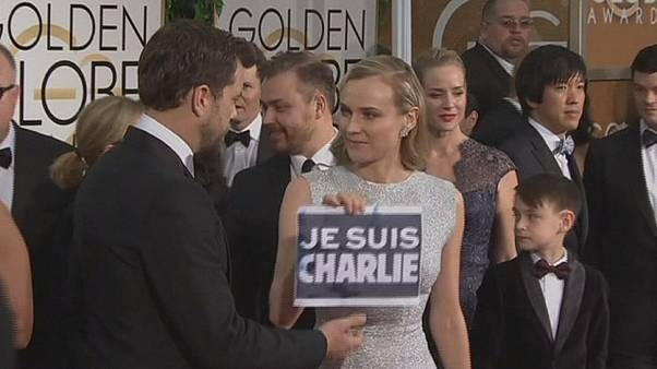 George Clooney is Charlie at Golden Globes ceremony