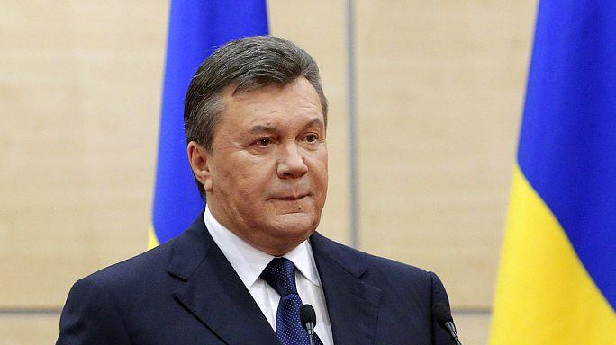 Viktor Ianoukovitch recherché par Interpol