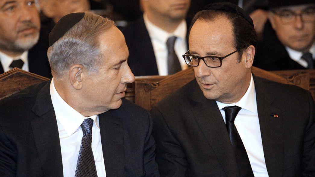 Los judíos de Francia se sienten cada vez más amenazados