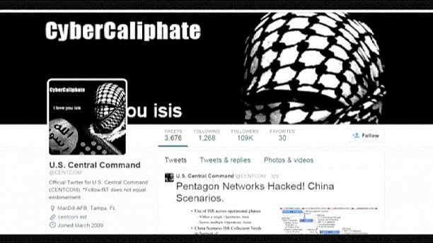 US military social media accounts hacked by pro-ISIL group