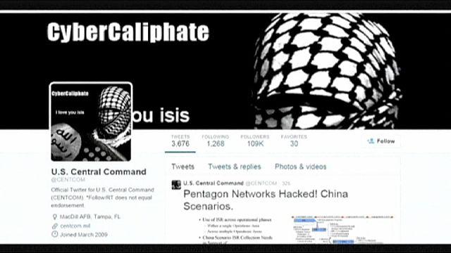 موقعا التويتر واليوتوب التابعان للقيادة الأميركية يتعرضان للقرصنة